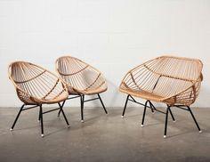 Retro Bamboo Sofa Set: Amsterdam Modern outdoor... | Wicker Furniture  www.wickerparadise.com
