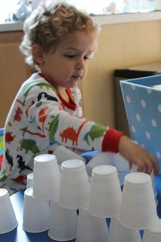 The Ultimate Guide to Hands On Toddler Activities: Plastic Cup Fun