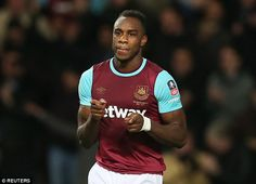 Michail Antonio backed to earn England call-up by West Ham manager Slaven Bilic who hails his in-form winger as 'quality'