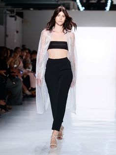 Ukrainian Label Bevza at New York Fashion Week