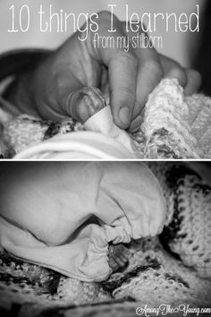 10 things I learned from my stillborn.  Loved this.