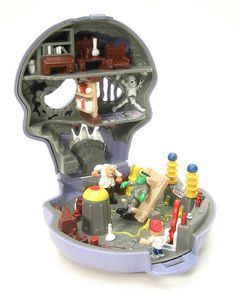 Mighty Max. It's the Polly Pocket for guys. I loved these so much(and the cartoon).