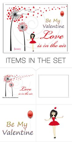 """""""love is in the air"""" by smile2528 ❤ liked on Polyvore featuring art"""