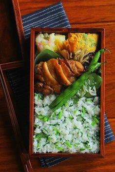 鶏肉の旨煮弁当 | 日本の片隅で作る、とある日のお弁当