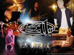311  Just a cool photo of the band and their logo.