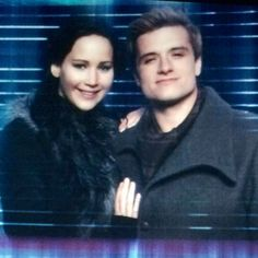 Everlark <3 He looked so dang good in this scene I died a little