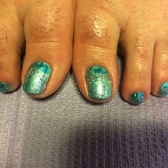Bec mermaid toes