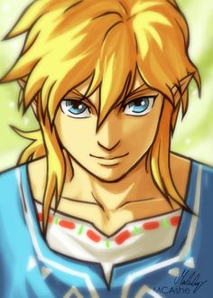 Link fanart - Zelda breath of the wild by MCAshe.deviantart.com on @DeviantArt
