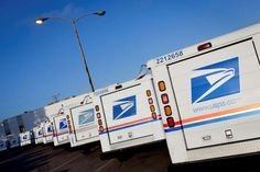 Us Postal Service, United States Postal Service, Night Driving, Self Driving, Long Haul, Public Transport, Trucks, Delivery, Going Postal