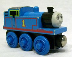Thomas the Train & Friends - Thomas Wooden Railway #1 Engine - Magnetic -Gullane