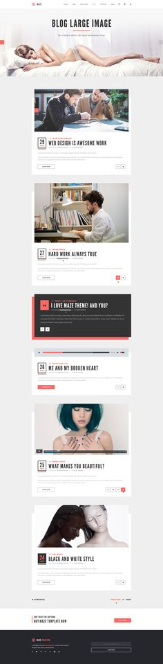 Maze | Creative Agency PSD Template UI #mobile #nike #digital #mobile #ui #uidesign #uxdesign #mobileappui #UIUX#webdesign #color #photography #typography #ResponsiveDesign #Web #UI #UX #WordPress #Resposive Design #Website #Graphics