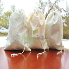 5 x 8 Muslin Bag With Drawstring - Unbleached, View army drawstring bag, Product Details from ECOGREENTEXTILES on Alibaba.com