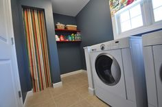 laundry room-love the colors