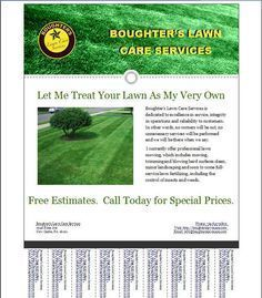 Lawn Care Business Flyer Template Business Care Flyer Lawn