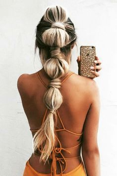 30 Party Perfect Pony Tail Hairstyles For Your Big Day ❤ See more: http://www.weddingforward.com/pony-tail-hairstyles/ #wedding #hairstyles
