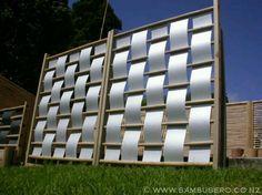 Modern Deck Screen