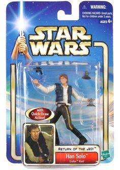 Saga ROTJ Carded Han Solo Endor Raid