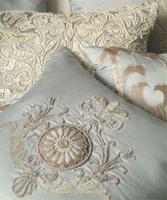 Decorative Pillows - Products - Lili Alessandra- Luxury Fine Linens - Easy Care Washable Bedding- Tencel/Silk Eco-Friendly