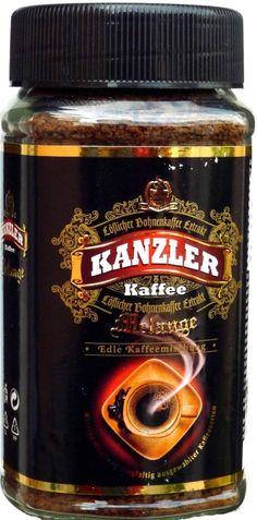 Káva rozpustná - Káva rozpustná Kanzler Melange 200g