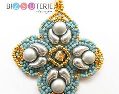 ZOLIBELLE pendant - instant download bead tutorial