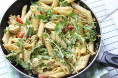 Pasta kip-pesto saus   Lekker en simpel   Bloglovin'