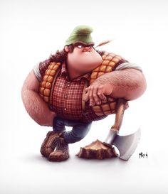 3D Cartoon Character #character #cartoon
