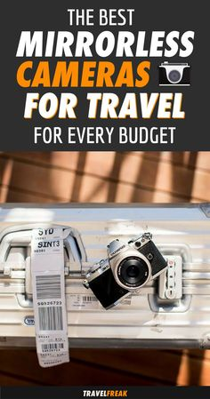 Looking for a new travel camera? Mirrorless cameras are the way of the future. Discover the best mirrorless cameras for travel that will suit every budget. This camera guide includes brands such as Sony, Olympus, and Fujifilm and will help you choose the perfect one for you!   travel camera best   mirrorless camera tips sony   mirrorless camera best #camera #travelphotography - via @travelfreak_