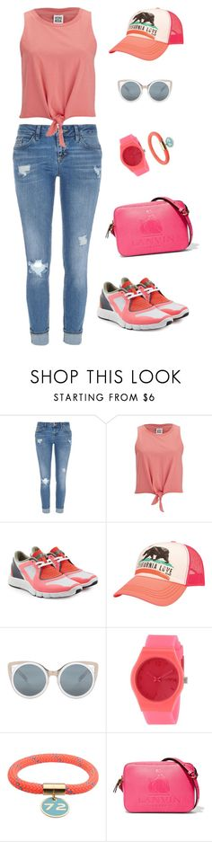 """Untitled #5"" by hessa-alkuwari ❤ liked on Polyvore featuring River Island, Vero Moda, adidas, Billabong, Erdem, RumbaTime, Marc by Marc Jacobs and Lanvin"