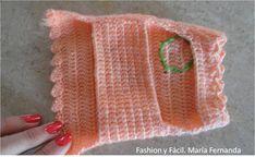 Fashion y Fácil : Vestidos para mascotas pequeñas tejidos en una sola pieza a crochet ó ganchillo. (Crocheted dresses for small pets)