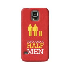Two and a Half Men Samsung Galaxy Case from Cyankart Samsung Galaxy S4 Cases, Iphone 5c Cases, 5s Cases, Iphone 4, Two And A Half, Half Man, Htc One M8, Apple Iphone 5, Sony Xperia