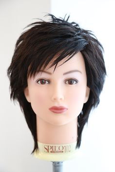 0P7A1074 Short Choppy Hair, Short Shag Hairstyles, Thin Hair Haircuts, Short White Hair, Medium Hair Styles, Long Hair Styles, Langer Bob, Mullet Hairstyle, Shot Hair Styles