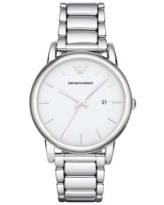 06af674dc7c Emporio Armani Ladies White Dial Watch AR1854