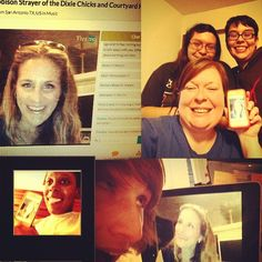 Happy fans of #EmilyRobison sharing #selfies of their Mo session on Tivamo! #DixieChicks #courtyardhounds