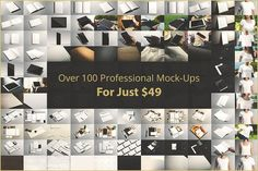 Branding Mock-up's Bundle by Mockup Cloud on @creativemarket