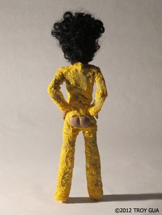 Noooooo! Not tha booty out outfit!!! Bwwwwhahahahaaaa!!!! Le Petit Prince doll: The adventures of tiny Prince - City Pages