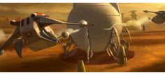 Aquecimento para as artes de Star Wars: The Force Awakens | THECAB - The Concept Art Blog