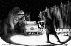 Media Tweets by Jed Taylor (@JCTArtStudio) / Twitter Dinosaur Art, Dinosaur Stuffed Animal, Jurassic Park World, Prehistoric Creatures, Crystal Palace, Prehistory, Fantasy Creatures, Fossils, Beast