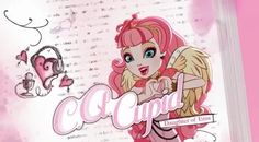 Enroll at Ever After High! Hang out with the fairest Ever After High students, the royal and rebel children of fairy tales. Play spellbinding games for girls online and watch fairytale videos. Ever After High, Monster High, Feather Symbolism, Lizzie Hearts, Most Popular Cartoons, Ever After Dolls, Fanart, Raven Queen, Heart Day