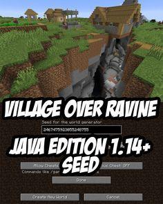 Minecraft 1 14 Seed 2467475923055248755 Minecraft 1 14 Seed 2467475923055248755 Minecraft Seed Minecraft Pictures Minecraft Tutorial