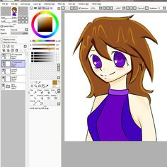 First time used paint tool sai