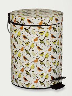 Com Estampas Vintage, Animal, Poá e Outras, as Lixeiras da Collector são Perfeitas também p/ Decorar. Compre Online na Collector55!