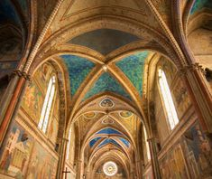 T+L World's Most-Visited Sacred Sites: Basilica of St Francis Assisi, Assisi, Italy