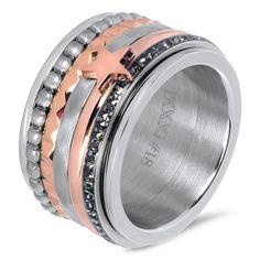 Gouden bolletjes ring iXXXi Jewelry