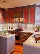 How to decorate the kitchen wall? One of the beneficial we can do is applying kitchen wallpaper. With this article will give some kitchen wallpaper ideas. Grey Kitchens, Modern Farmhouse Kitchens, Cool Kitchens, Big Kitchen, Country Kitchen, Kitchen Decor, Kitchen Ideas, Simple Kitchen Design, New Kitchen Designs