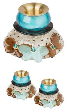 Love these Orna Lalo candlesticks, too!