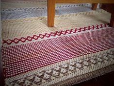 Karen Isenhower Lovely rugs and great method for the hems
