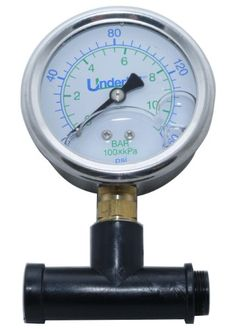 Underhill ASHG160K Sprayhead Tester Adapter with Pressure Gauge for Female Nozzles * Details can be found by clicking on the image.