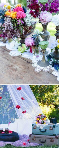 Lovely Wedding Magazine blog: Boho Vintage Styling