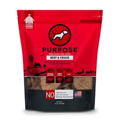 Purpose Freeze Dried Beef and Veggie Humanely Raised Dog Food 14 oz. >>> Want additional info? Click on the image. (This is an affiliate link and I receive a commission for the sales) #Dogs