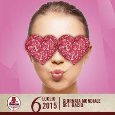 Oggi è la Giornata mondiale del bacio! Si festeggia dal 1990, per ricordare i semplici gesti d'affetto...che noi di #renzini non possiamo non associare all'affettato